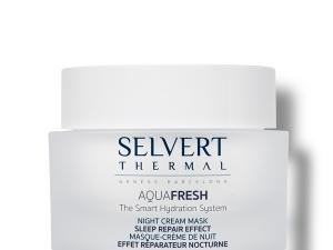 Aquafresh hidratáló hatású éjszakai felszívódó arcmaszk